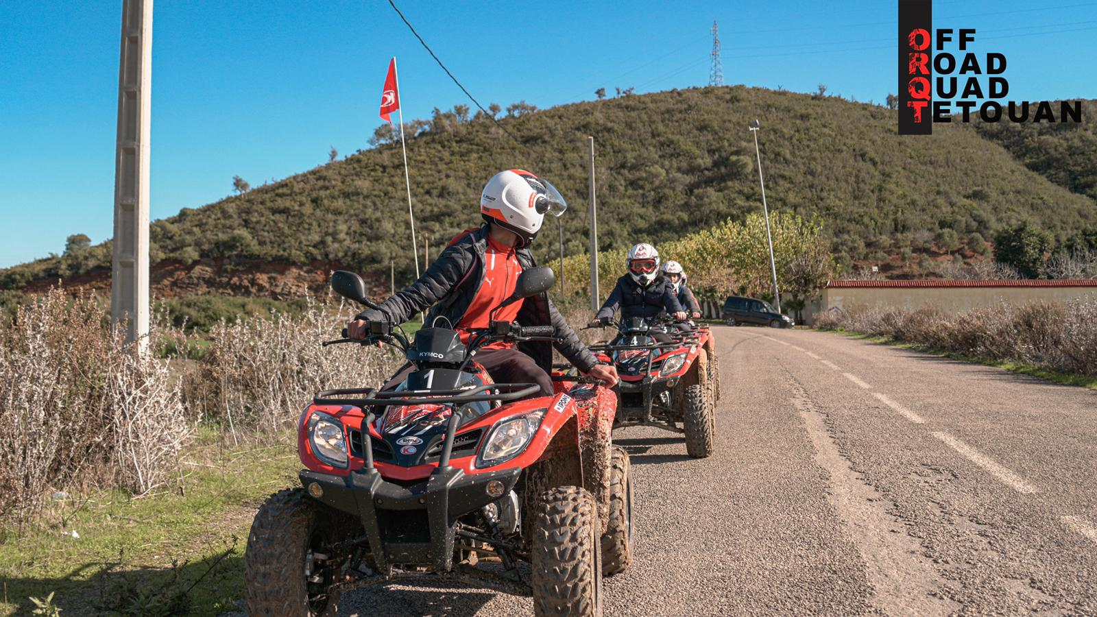 off road quad tétouan